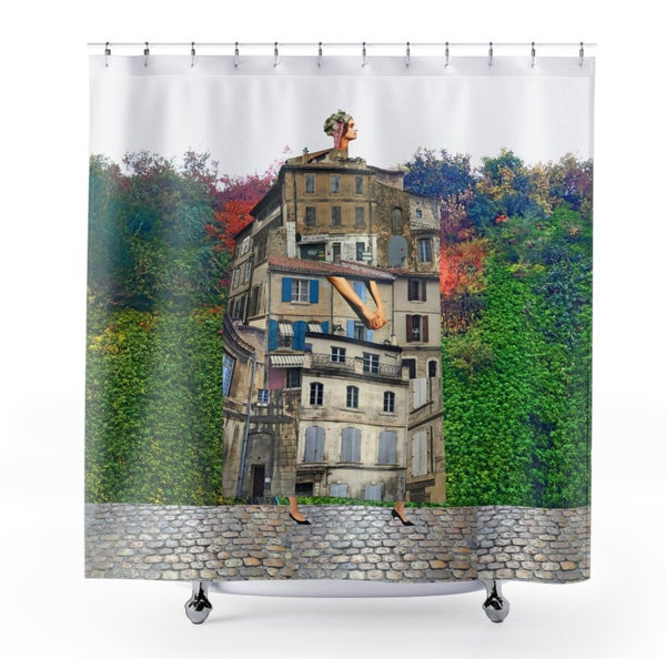 Image of Plate No.265 Shower Curtain