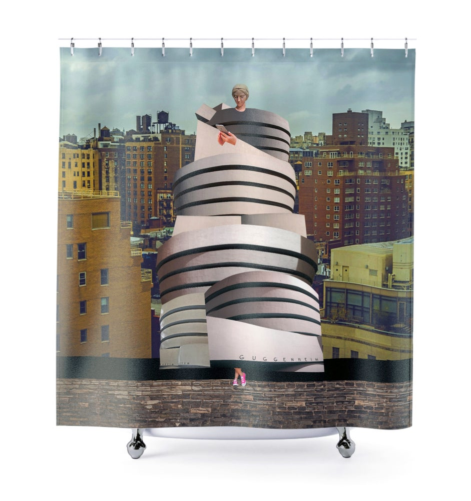 Image of Plate No.196 Shower Curtain