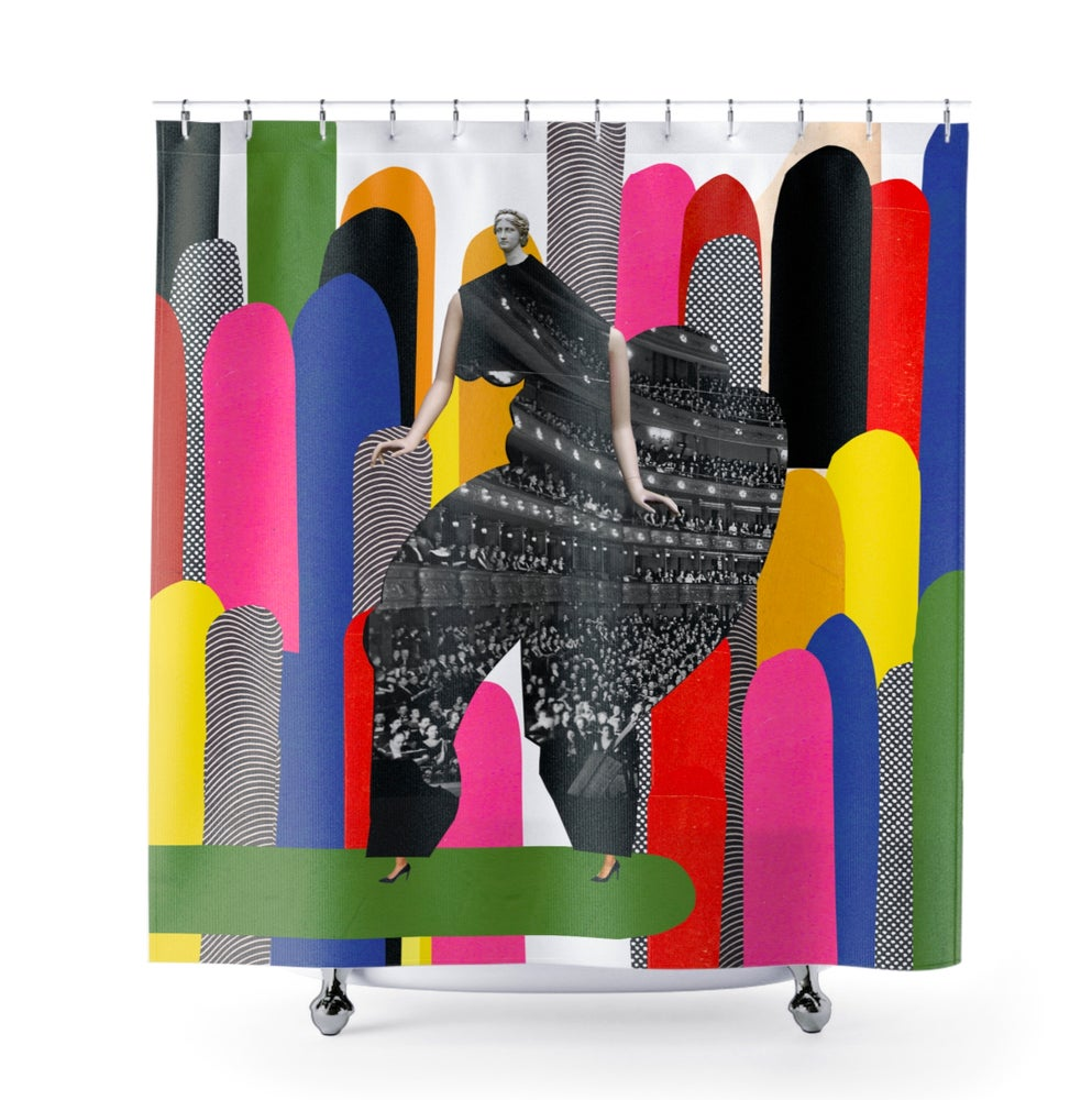 Image of Plate No.99 Shower Curtain
