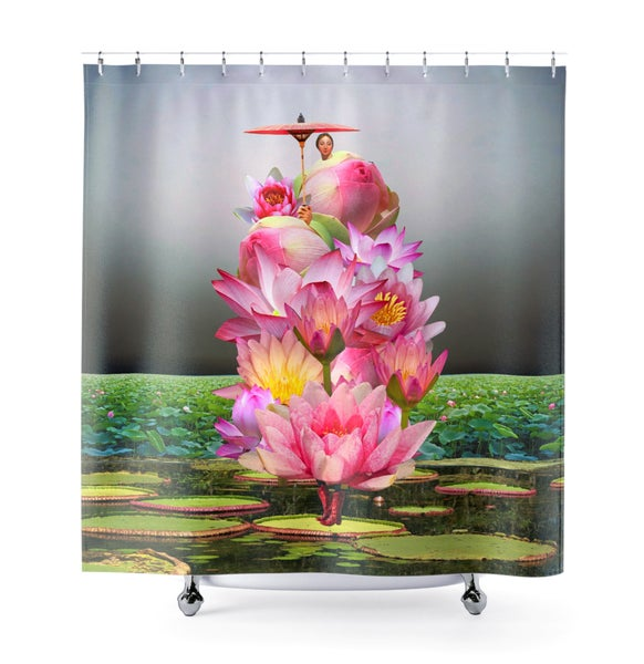 Image of Plate No.239 Shower Curtain