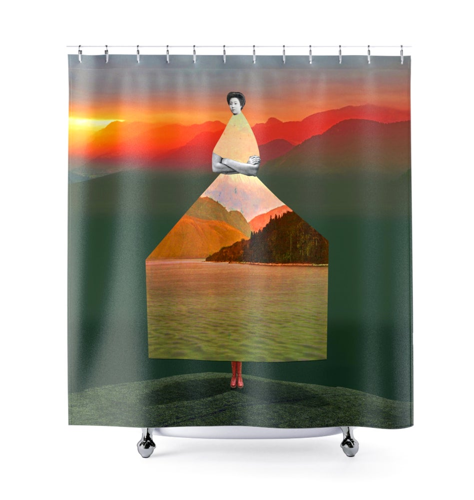 Image of Plate No.34 Shower Curtain