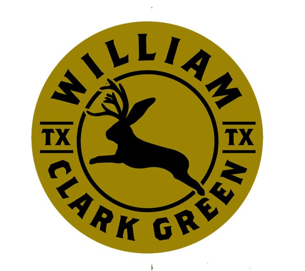 Image of Mustard Yellow Jackalope Sticker