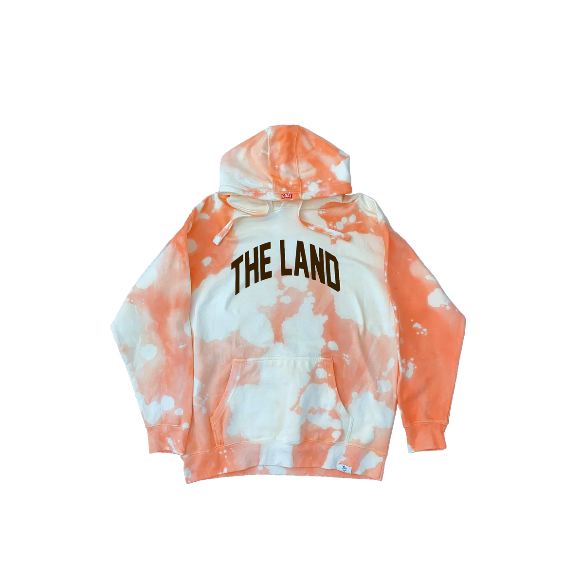 """Cleveland Browns Dyed """"The Land"""" Hoodie"""