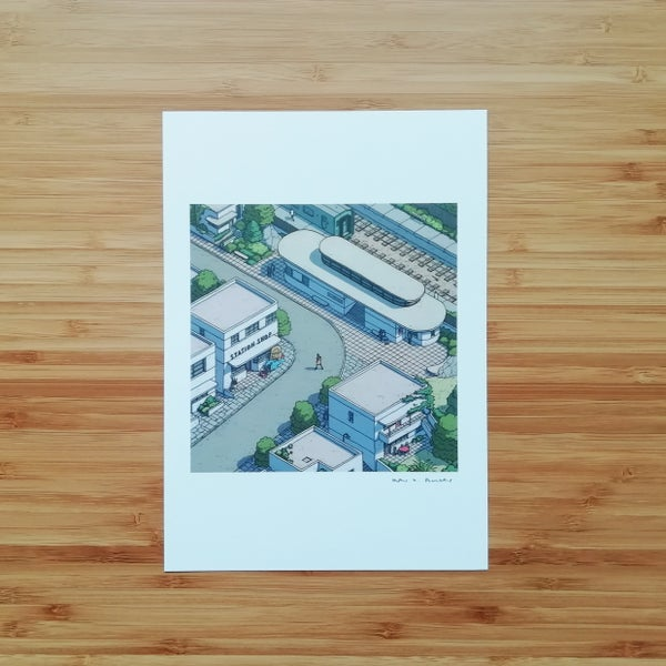 Image of Station - SIGNED PRINT
