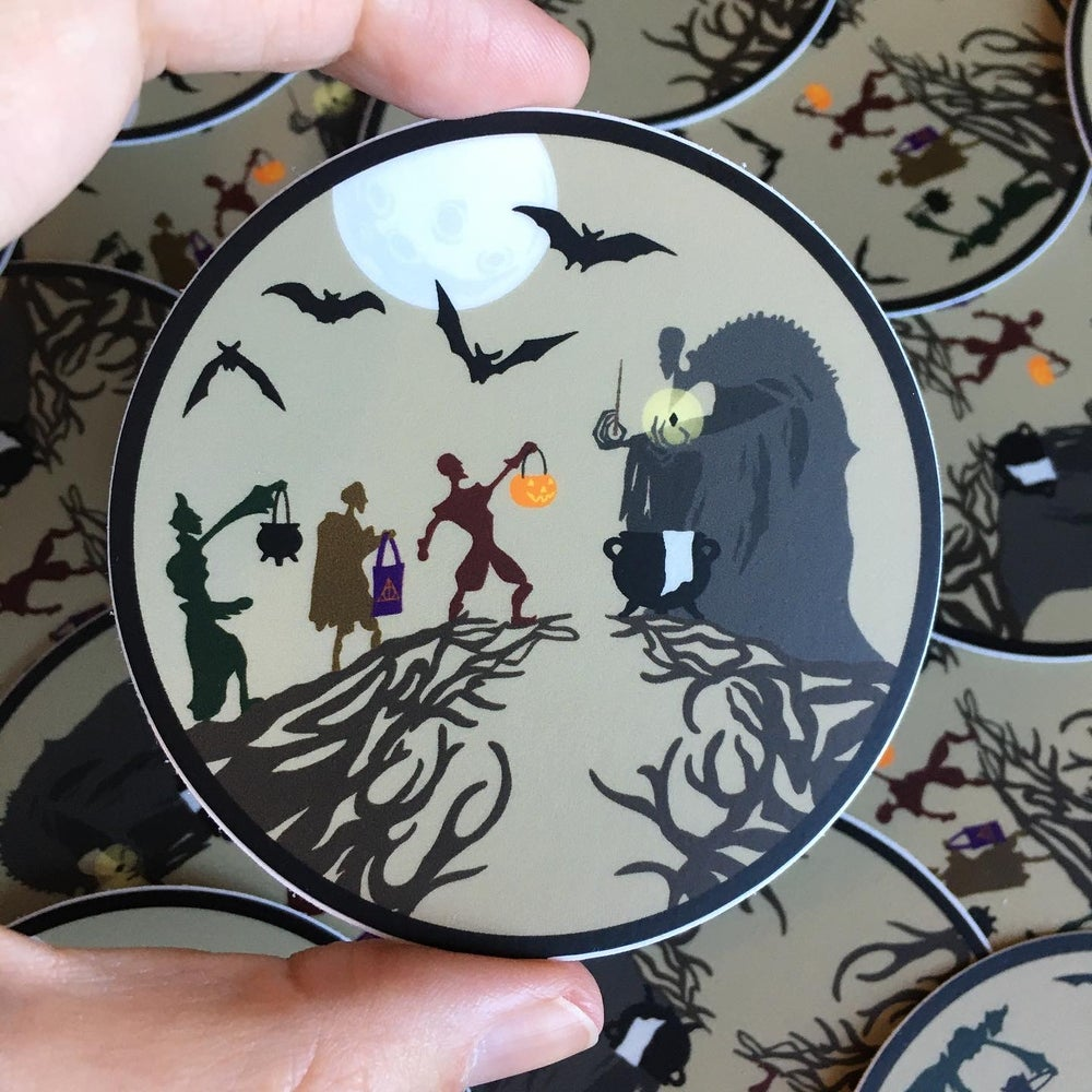Image of Haunt or Hallows Vinyl Decal