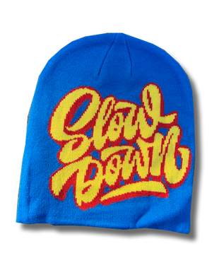 Image of Logo Beanie 2020 Blue Red Yellow