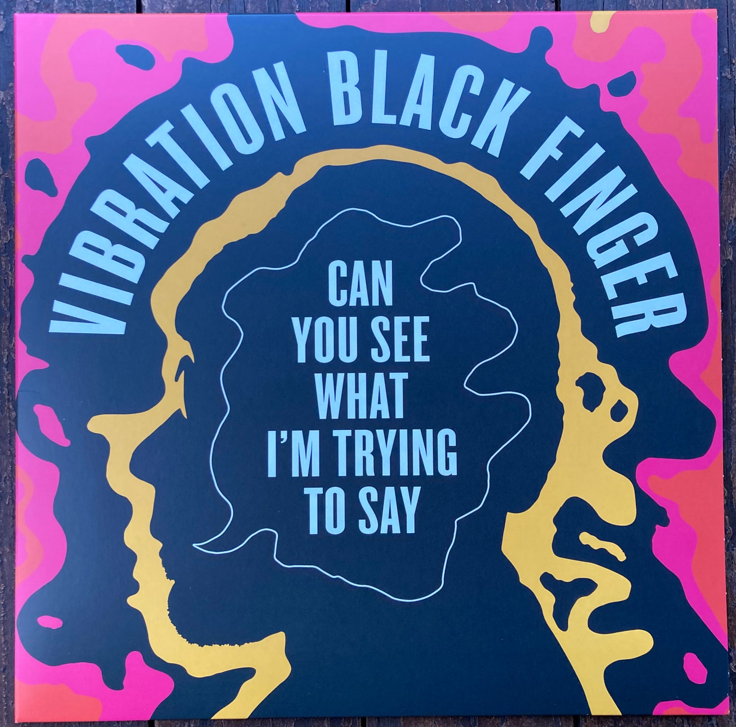 Image of Vibration Black Finger – Can You See What I'm Trying To Say - JMANLP 121