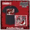 Combo 2 - Wasteland Logo shirt + Autographed Wasteland CD *SAVINGS OF $17