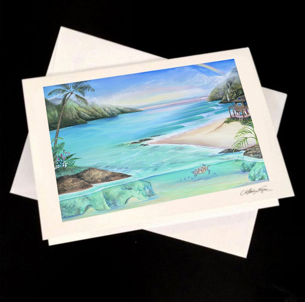 Image of Good Vibes, 5-Pack Greeting Card Set
