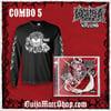 Combo 5 - Wasteland Logo Long Sleeve shirt + Autographed CD *SAVINGS OF $17