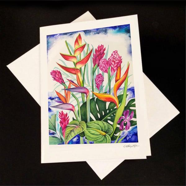 Image of Sending Love, 5-Pack Greeting Card Set