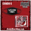 Combo 6 - Face Mask + Autographed Wasteland CD *SAVINGS OF $13
