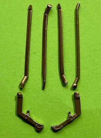 Image of Fokker DR.I Triplane brass undercarriage struts for the Meng kits