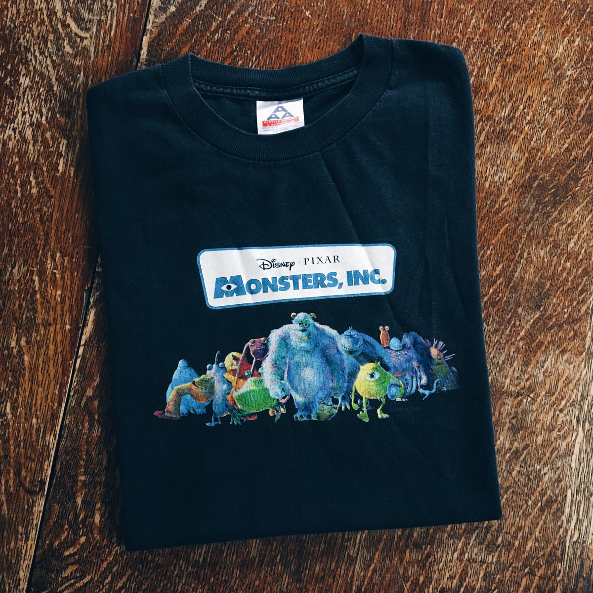 Image of Original 2001 Monsters, Inc. Hollywood Video Movie Promo Tee.
