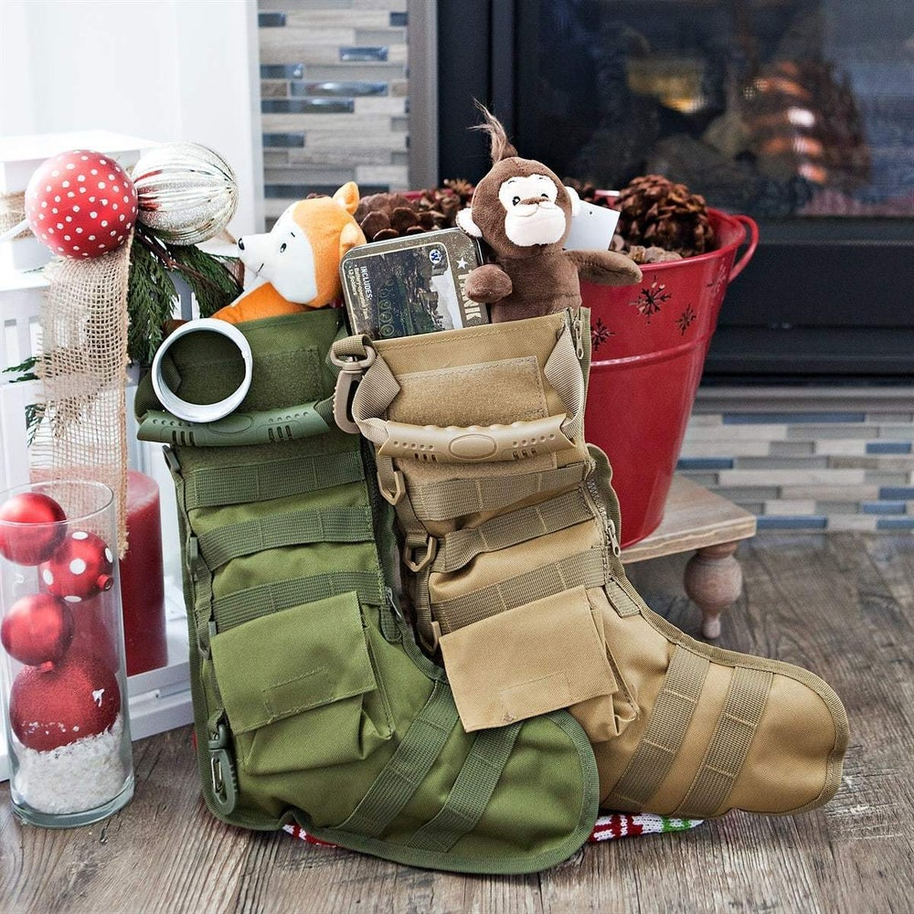 "Image of KMP ""TACTICAL SACK� Xmas Stocking"