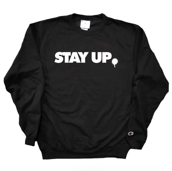Image of Stay Up Champion Crewneck