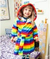 Kids Traditional Hooded Dressing Gown