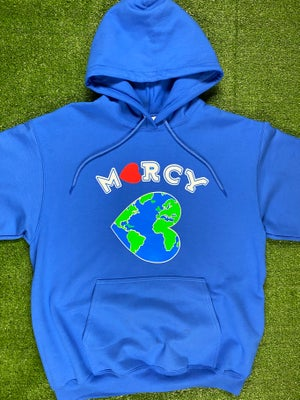 """Image of """"WORLD CHANGER"""" hoodie (royal blue)"""