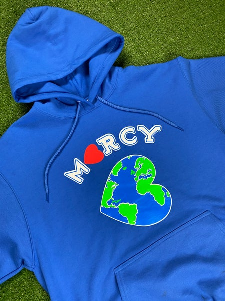 "Image of ""WORLD CHANGER"" hoodie (royal blue)"