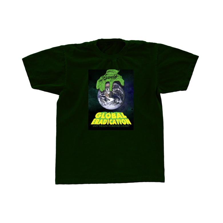 Image of Global Eradication Tee (Hunter Green)