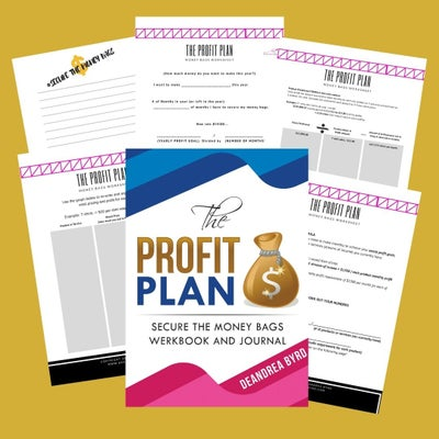 Image of Profit Plan Werkbook and Journal ( Paper Back)