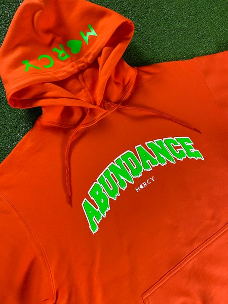 Image of ABUNDANCE DRIP (neon orange)