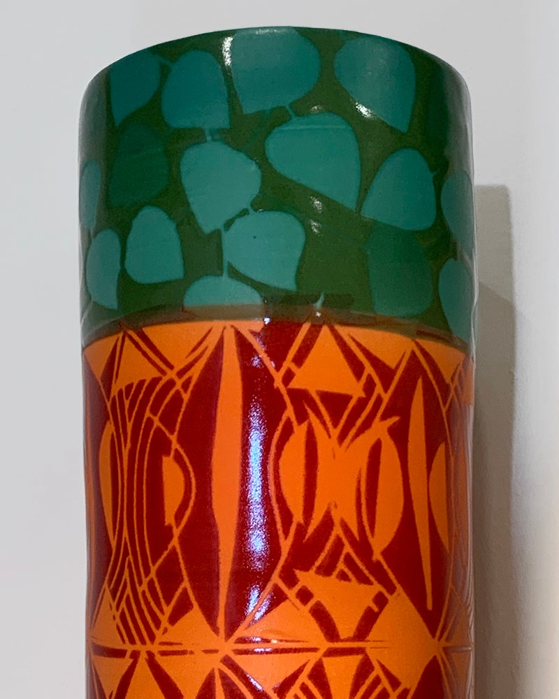 Image of Peace Tree Cylinder Vase