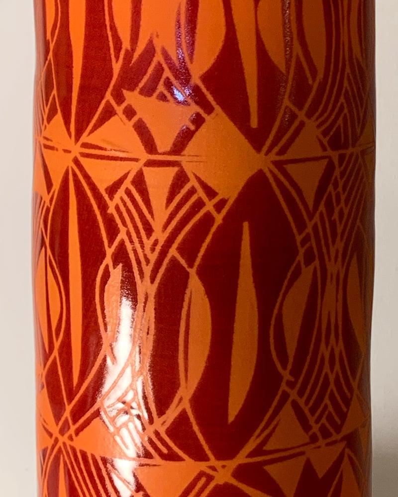Image of Peace Tree Cylinder Vase