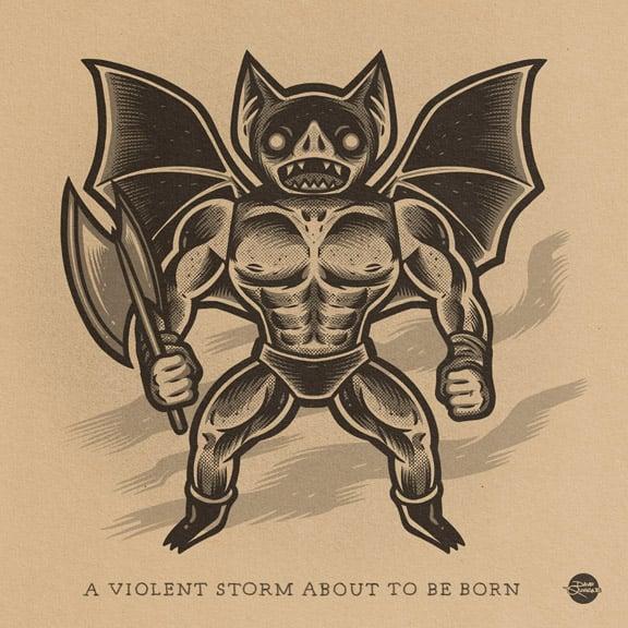 Image of Batsquatch (2020) - Print