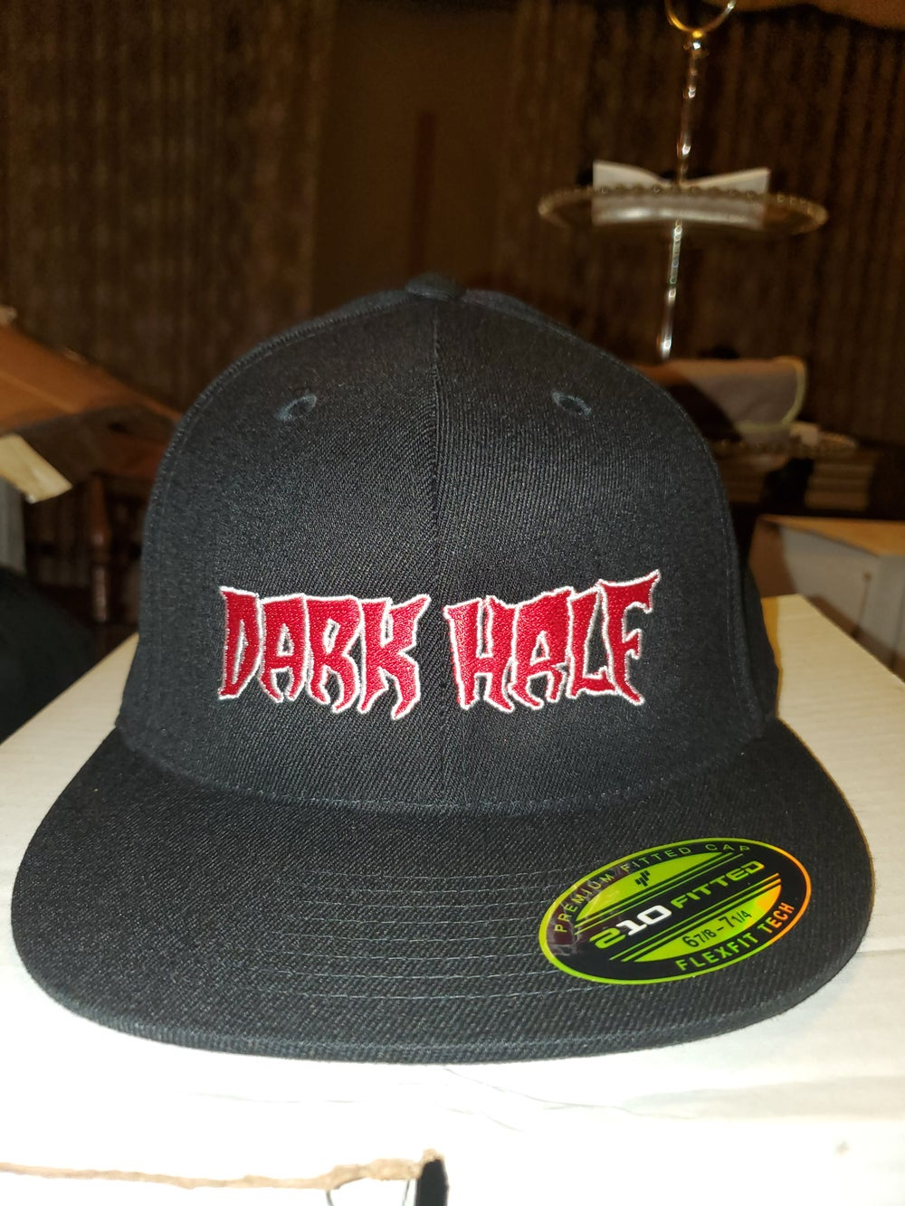 Dark Half Fitted Hat