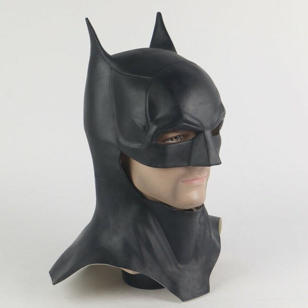 Image of New The Batman 2021 Movie Mask Robert Pattinson Cosplay Costume Prop Mask