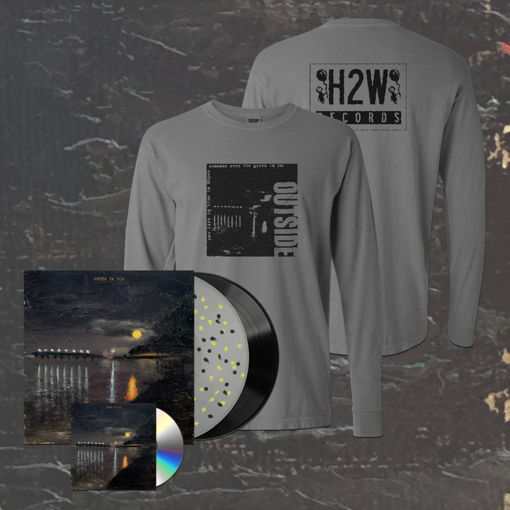 Image of Outside - Green In You LP/CD + Shirt Bundle