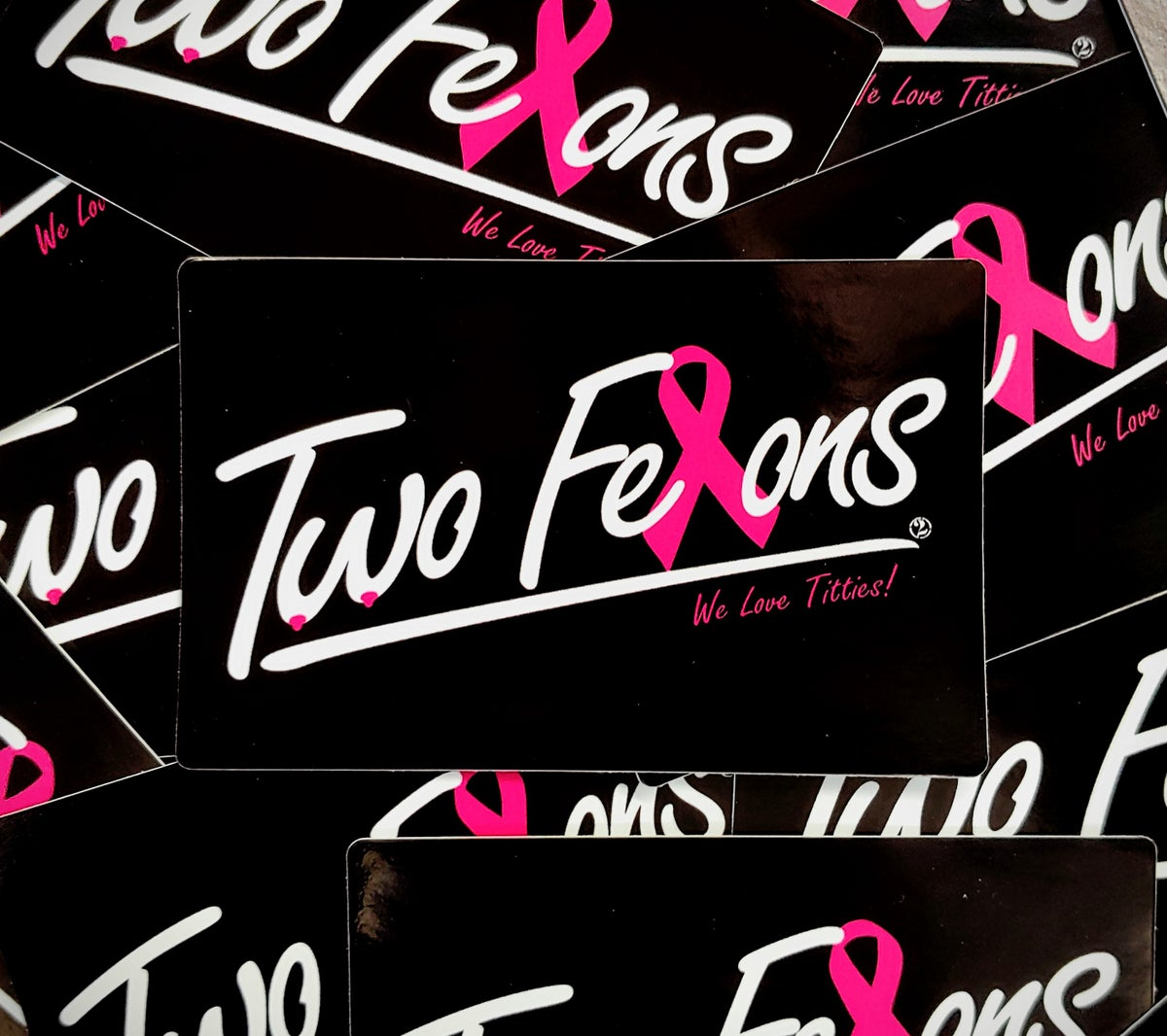 """Two Felons """"Love"""" stickers"""