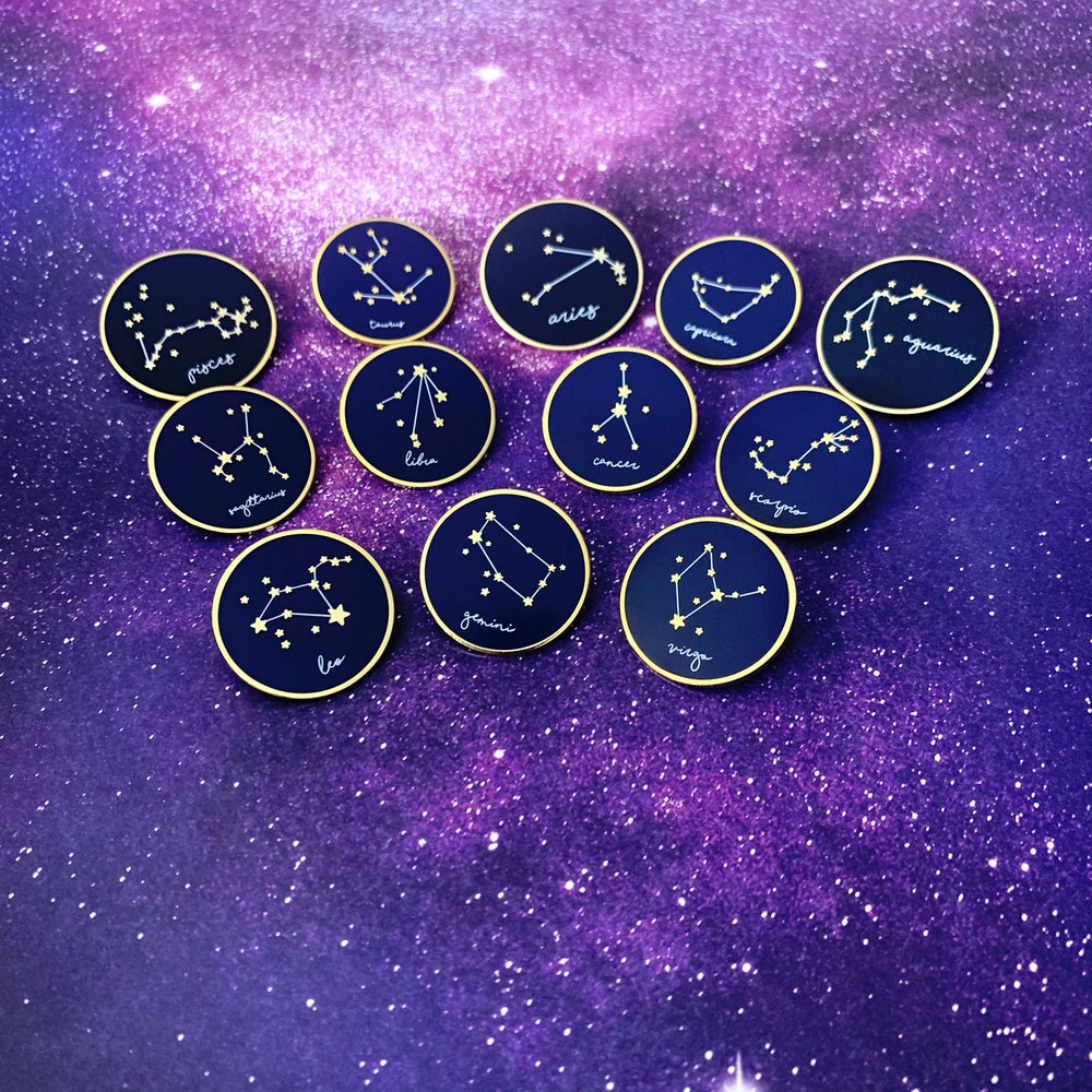 Image of Zodiac Pin Collection