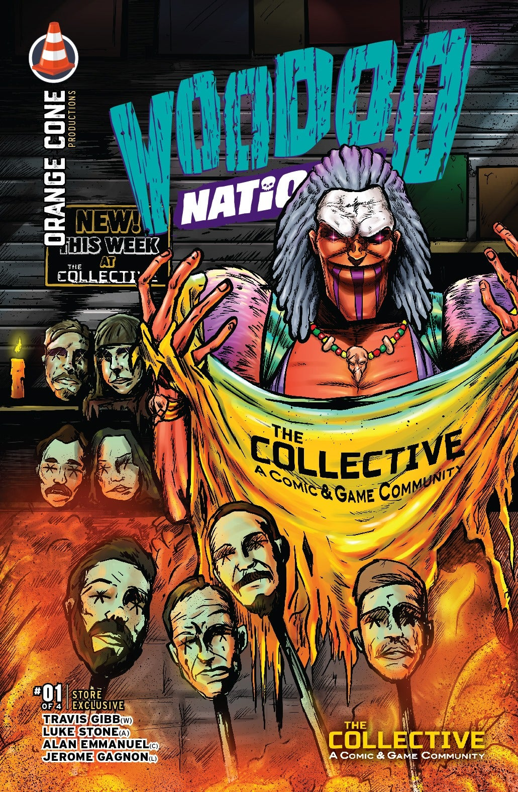 Image of VooDoo Nations #1 Collective Exclusive Cover
