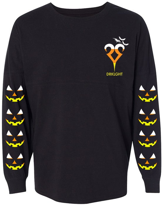 Image of Candy Corn Hooded Spirit Jersey