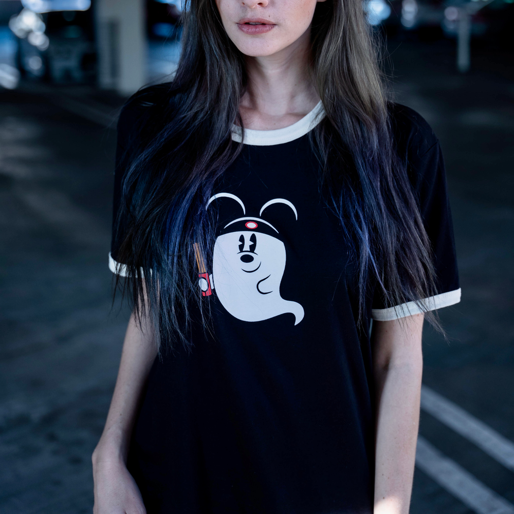 Image of Snack Ghosty Ringer Tee