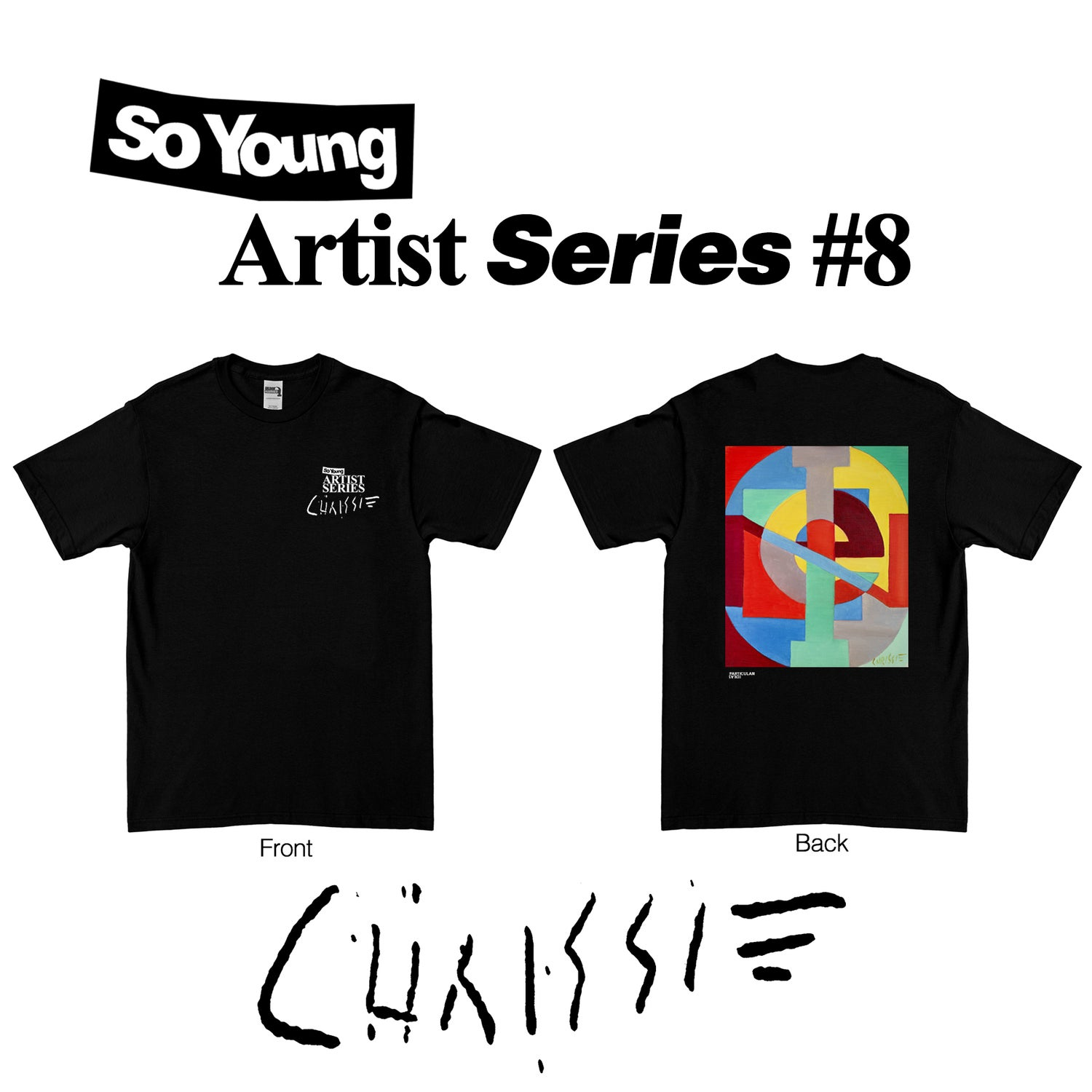 Image of Chrissie Hynde Artist Series T-Shirt PRE ORDER