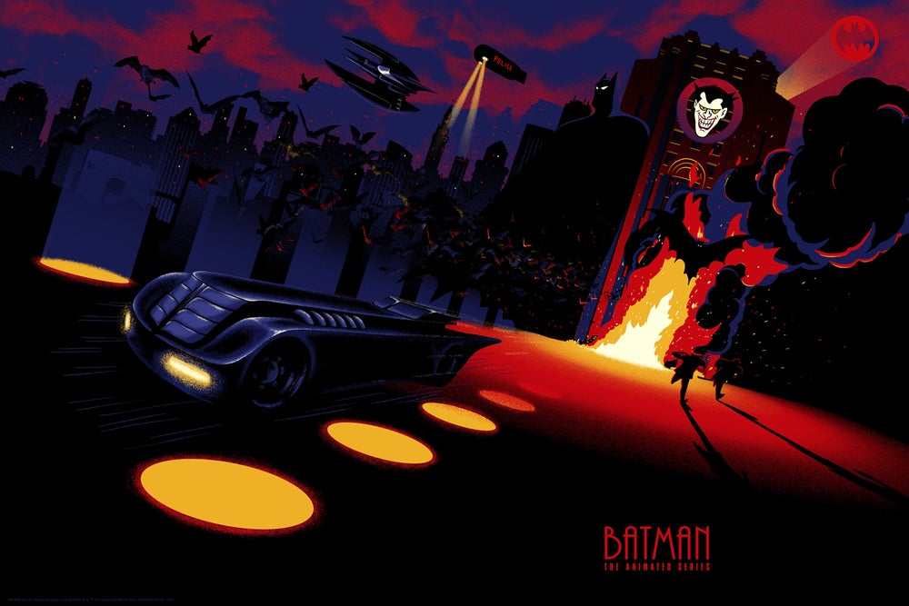 Image of Batman vs Joker - variant