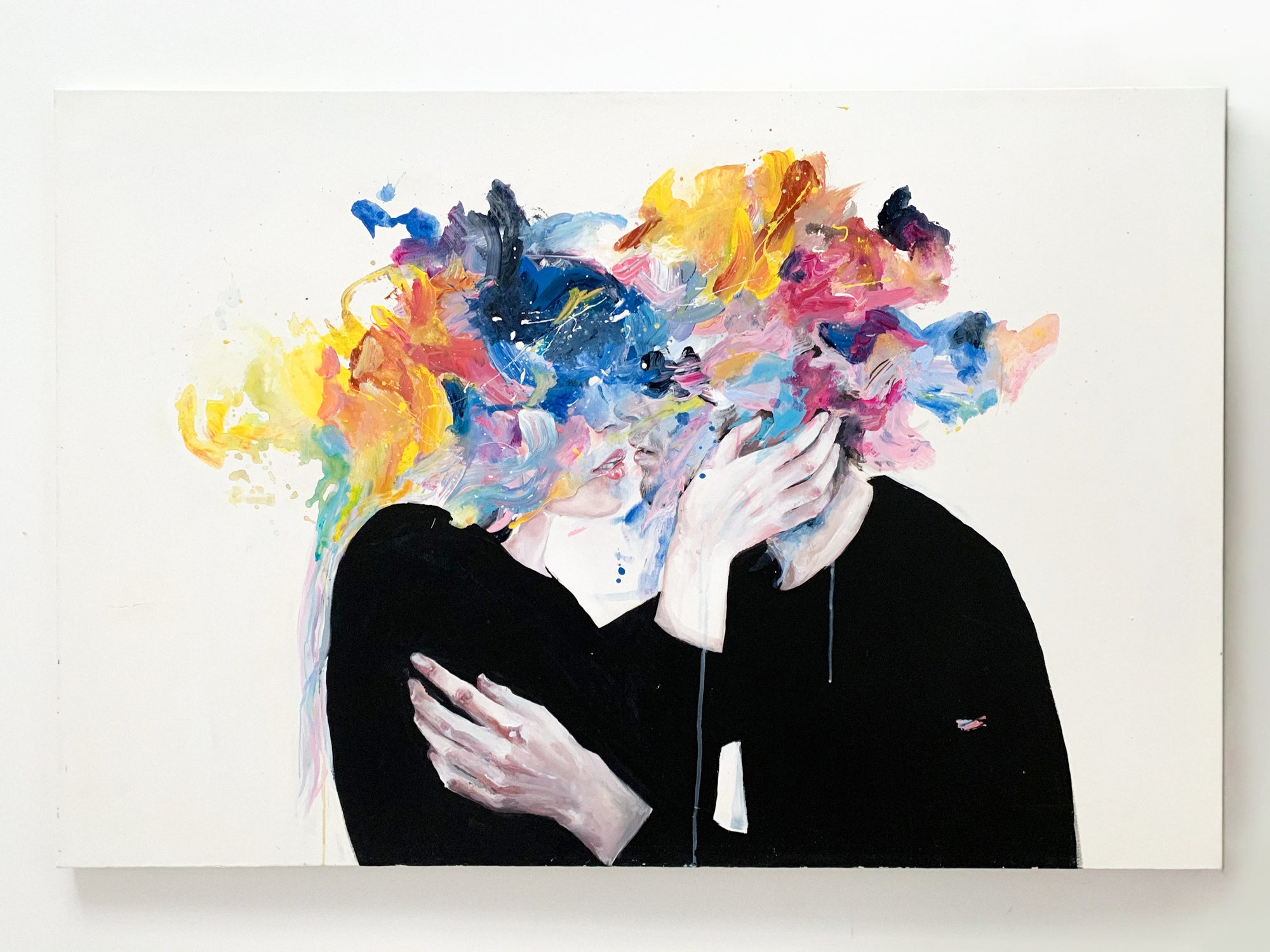 Agnes-Cecile intimacy on display