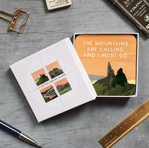 Image of Gift box of Scottish Landscape Coasters (Gift box)