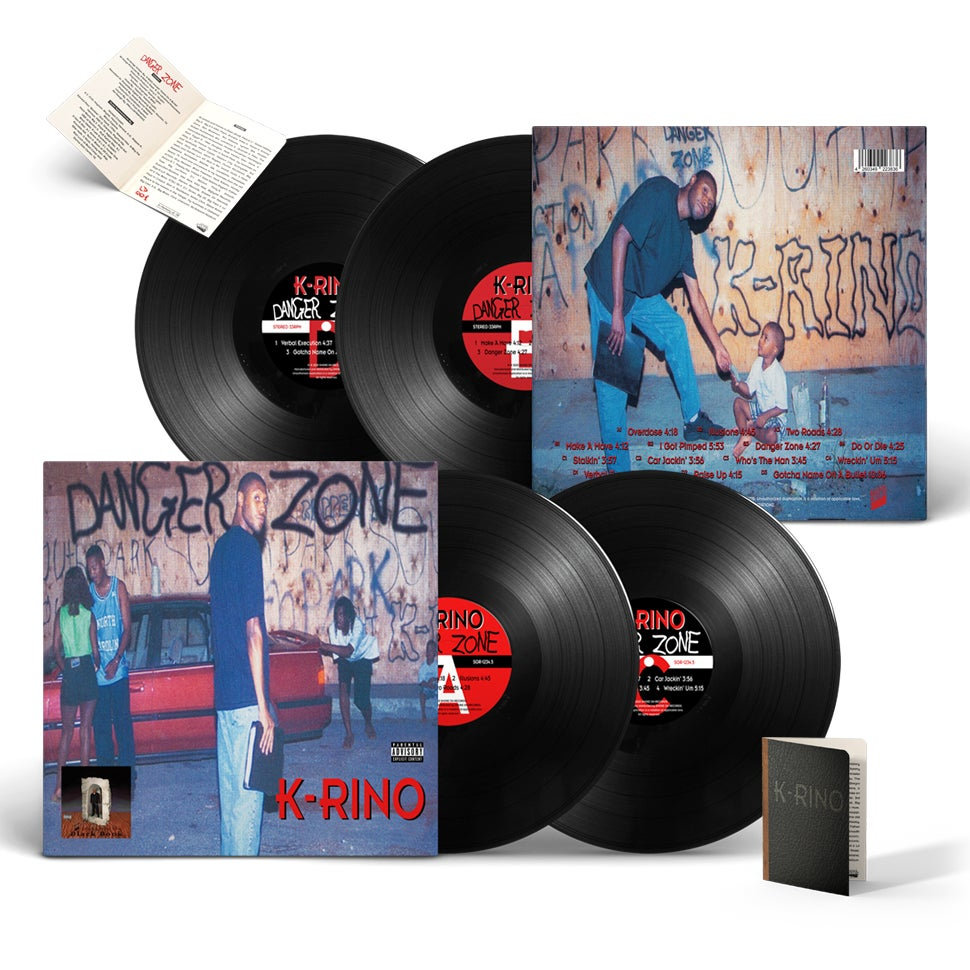 Image of K-Rino - Danger Zone Vinyl