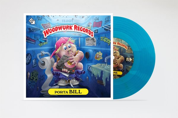 "Image of Porta Bill 7"" (Dolphin Blue Scratch Vinyl)"