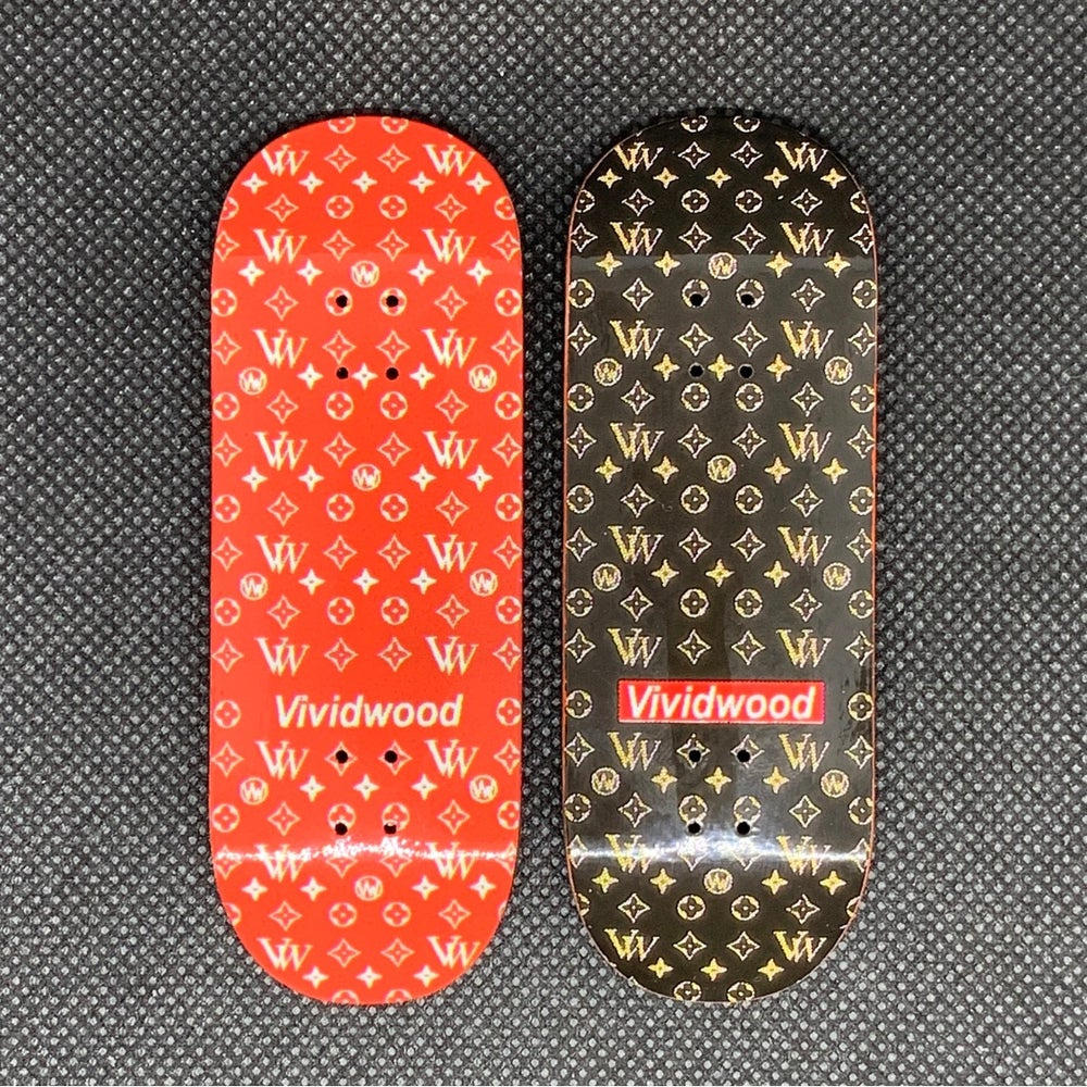 Image of 'VWLV' - Red or Black Edition - Available in all shapes