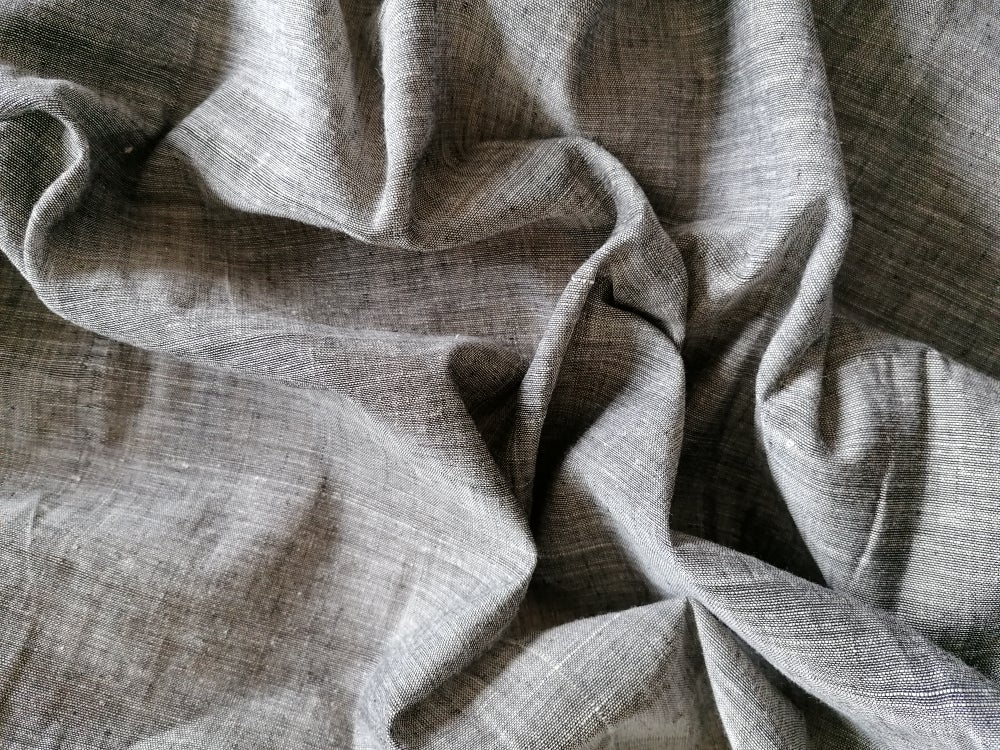 Image of Namaste fabric Khadi gris