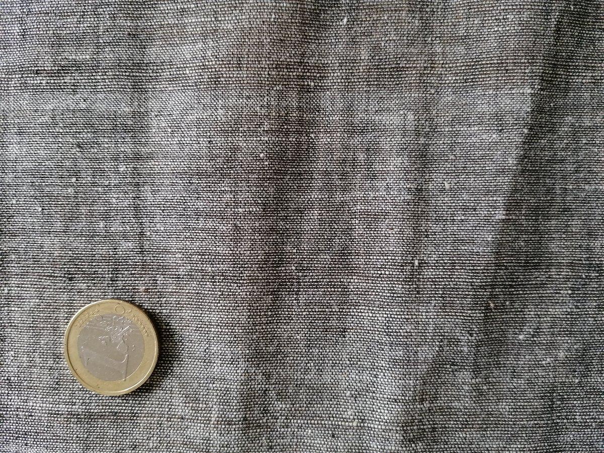 Image of Namaste fabric Khadi gris