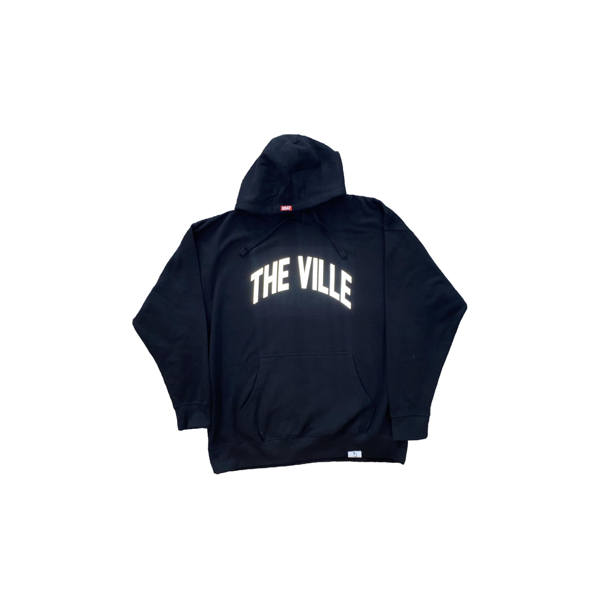 """The Ville"" Louisville hoodie reflective logo"