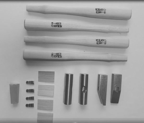Image of Texture Hammer Kit - Individual Round