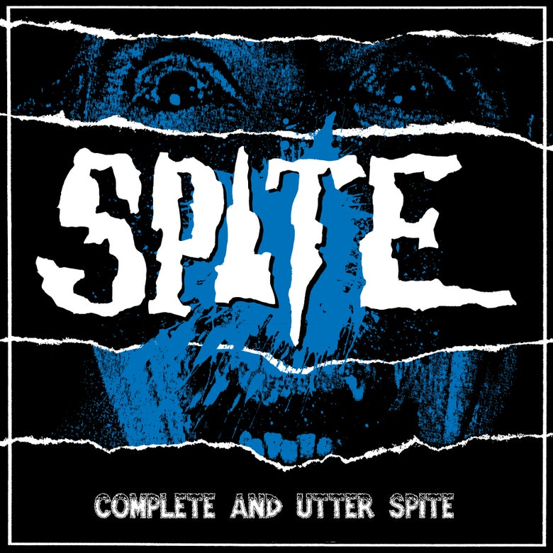 Image of SPITE - COMPLETE AND UTTER SPITE LP with CD included