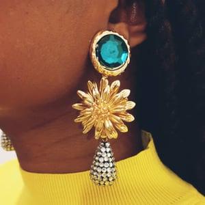 Image of Green Mimi Earrings